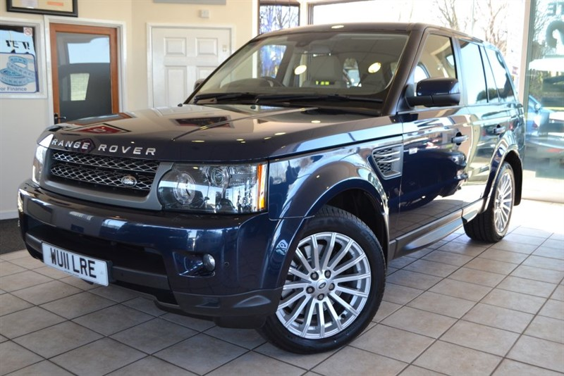 used Land Rover Range Rover Sport TDV6 SE ONE OWNER WITH LAND ROVER SERVICE HISTORY AND NAVIGATION in forest-of-dean-gloucestershire