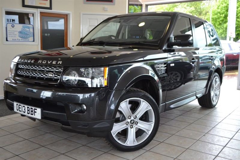 used Land Rover Range Rover Sport SDV6 HSE BLACK EDITION WITH FULL LANDROVER SERVICE HISTORY in forest-of-dean-gloucestershire