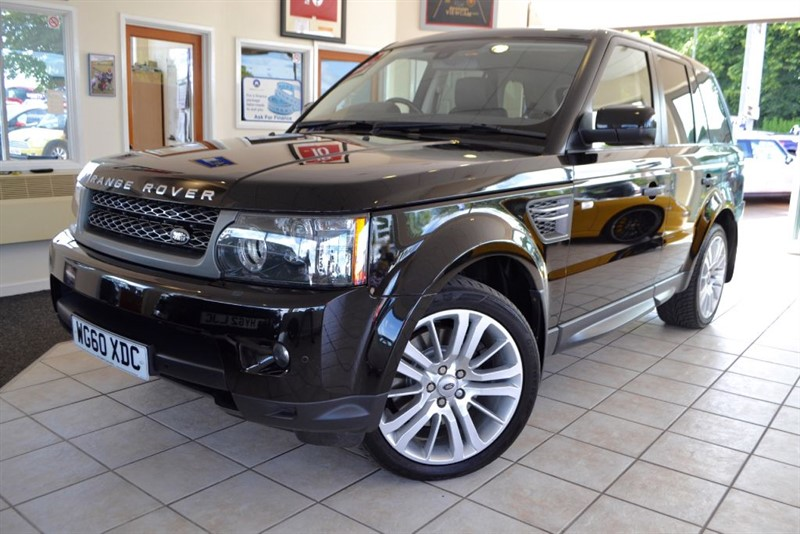 used Land Rover Range Rover Sport TDV6 HSE WITH FULL LANDROVER SERVICE HISTORY in forest-of-dean-gloucestershire