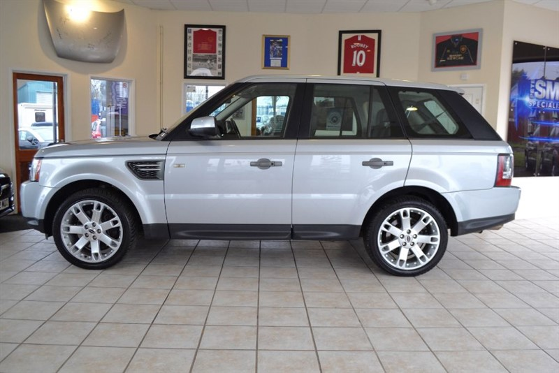 used Land Rover Range Rover Sport TDV6 HSE in forest-of-dean-gloucestershire