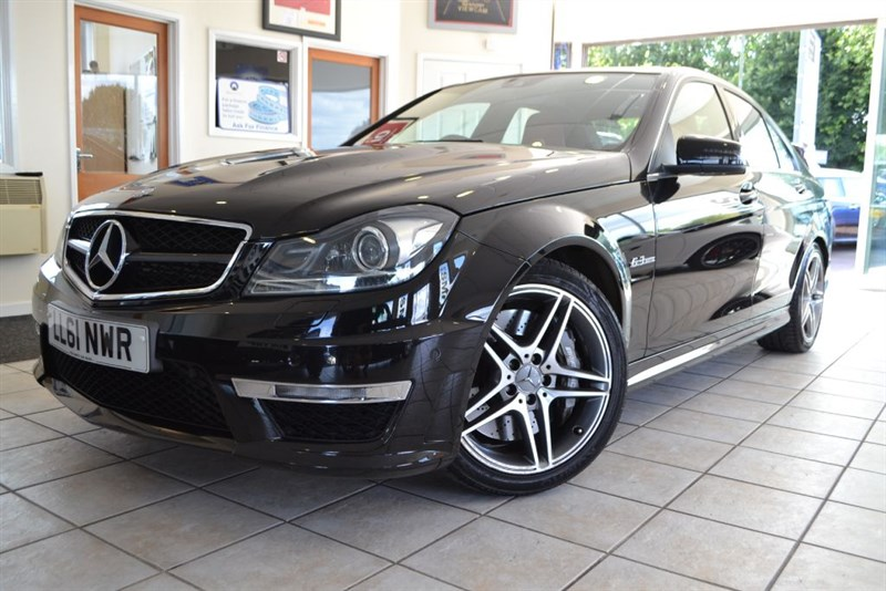 used Mercedes C63 AMG EDITION 125 WITH FULL MERCEDES SERVICE HISTORY in forest-of-dean-gloucestershire