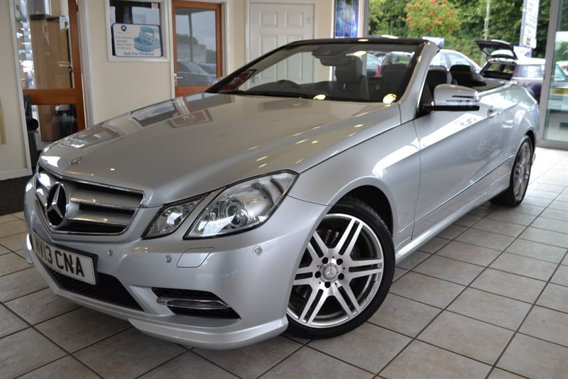 used Mercedes E250 CDI BLUEEFFICIENCY SPORT CONVERTIBLE in forest-of-dean-gloucestershire
