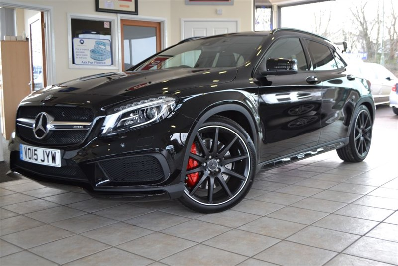 used Mercedes GLA45 AMG 4MATIC WITH MASSIVE SPECIFICATION VAT QUALYFING in forest-of-dean-gloucestershire