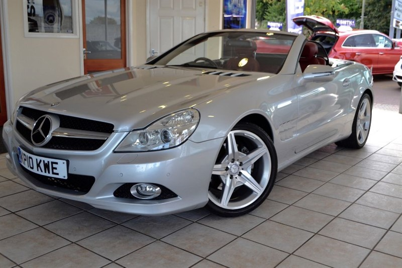 used Mercedes SL350 SL 350 WITH FANTASTIC SPEC in forest-of-dean-gloucestershire