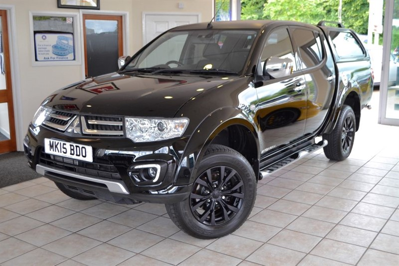 used Mitsubishi L200 DI-D 4X4 BARBARIAN BLACK EDITION LB DCB NO VAT!! in forest-of-dean-gloucestershire