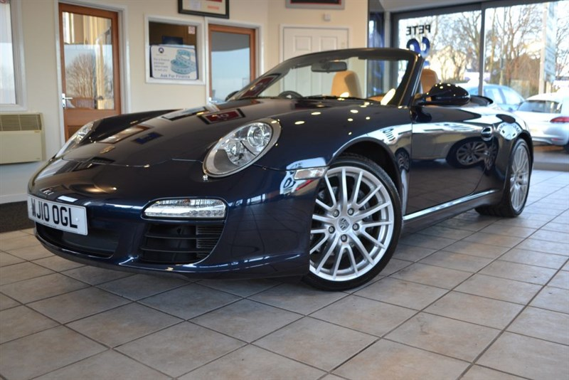 used Porsche 911 CARRERA 2 PDK CONVERTIBLE WITH ONLY 25000 MILES in forest-of-dean-gloucestershire