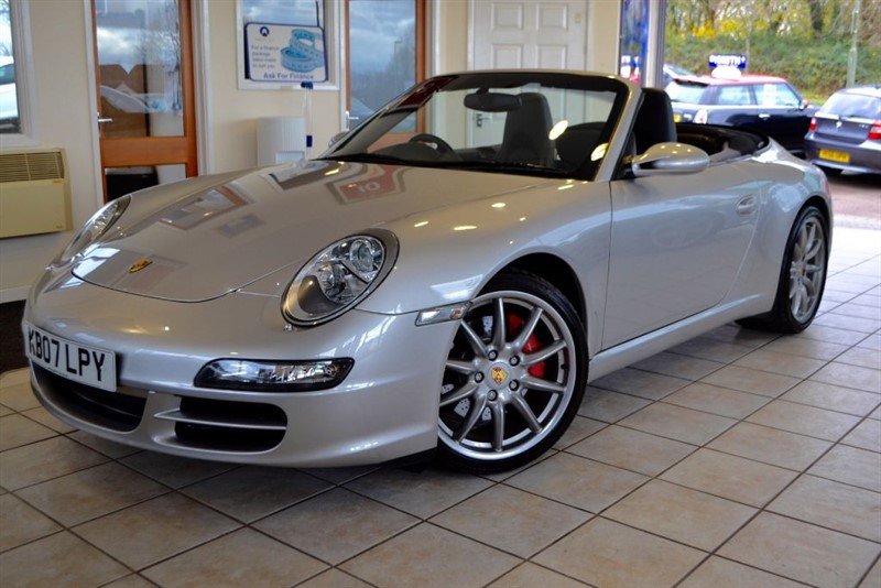 used Porsche 911 CARRERA 2 S CONVERTIBLE WITH A FULL PORSCHE SERVICE HISTORY in forest-of-dean-gloucestershire
