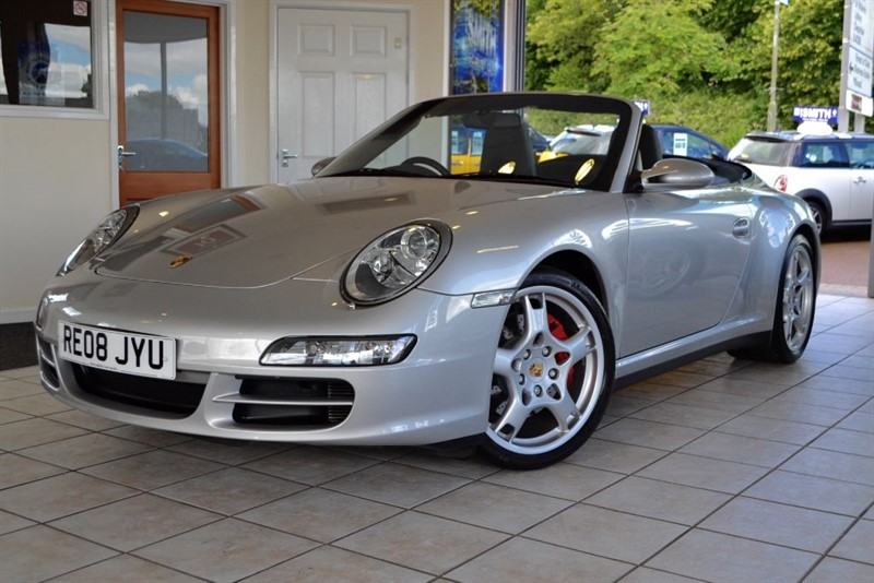 used Porsche 911 CARRERA 4 S CONVERTIBLE WITH FULL PORSCHE HISTORY in forest-of-dean-gloucestershire