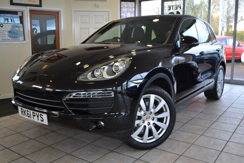 used Porsche Cayenne V8 S TIPTRONIC S in forest-of-dean-gloucestershire