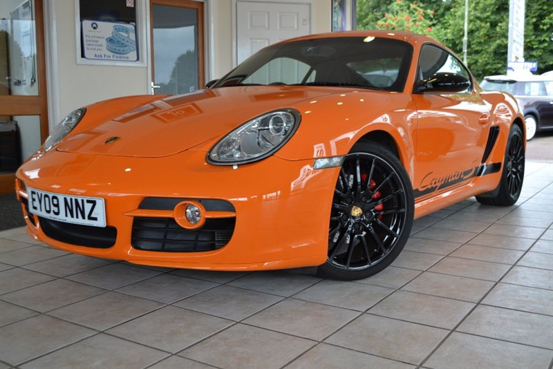 used Porsche Cayman S SPORT LIMITED EDITION No 203 0F 700 FULL PORSCHE SERVICE HISTORY in forest-of-dean-gloucestershire