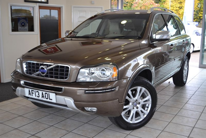 used Volvo XC90 D5 SE LUX AWD WITH FULL VOLVO SERVICE HISTORY in forest-of-dean-gloucestershire