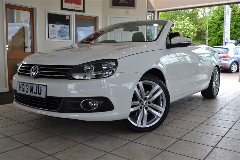 used VW Eos SPORT TDI BLUEMOTION TECHNOLOGY DSG in forest-of-dean-gloucestershire