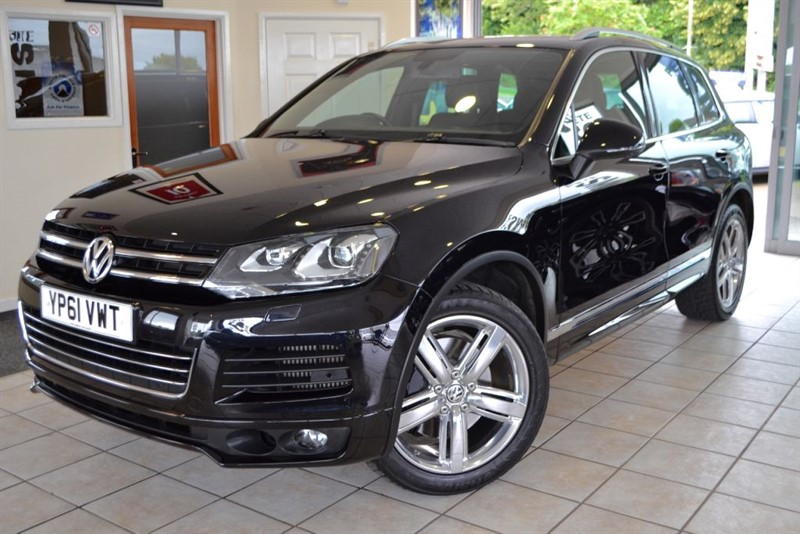 used VW Touareg V8 ALTITUDE TDI WITH FULL VW SERVICE HISTORY in forest-of-dean-gloucestershire