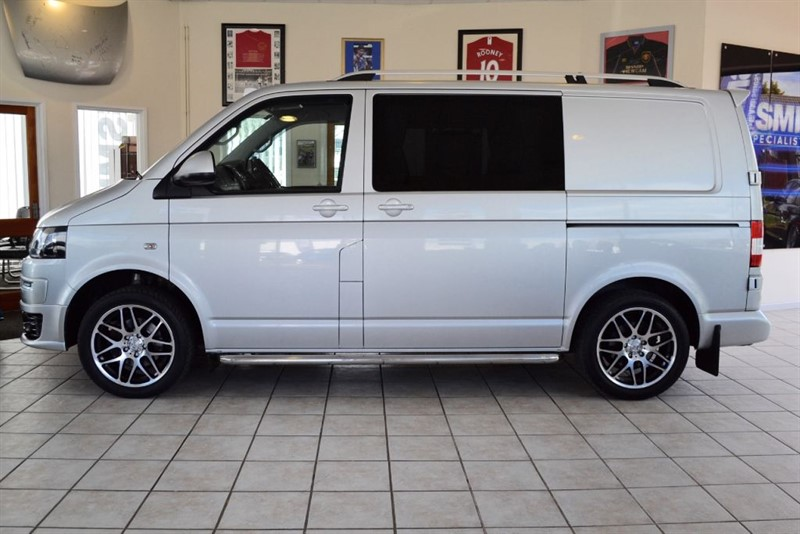 used VW Transporter T28 2.0 TDI HIGHLINE 140 BHP WITH BRAND NEW CAMPER CONVERSION in forest-of-dean-gloucestershire
