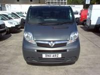 Used Vauxhall Vivaro 2700CDTI SWB