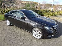 Used Mercedes C220 C-CLASS CDI BlueEFFICIENCY AMG Sport