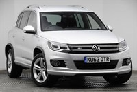 Used VW Tiguan MK2 5-Dr 2.0TDI (177ps) 4Motion R Line BlueMotion