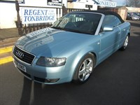 Used Audi A4 Cabriolet T Sport 2dr CONVERTIBLE WITH BLACK LEATHER