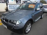Used BMW X3 2.5i SE 5dr Auto