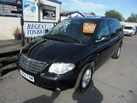 Used Chrysler Grand Voyager CRD LX 5dr Auto LEATHER