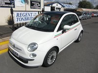 Used Fiat 500 Lounge 3dr 1 OWNER FSH £30 A YEAR TAX AC