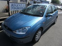 Used Ford Focus Ghia 5dr Auto WITH LEATHER AC & HISTORY