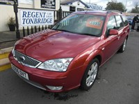 Used Ford Mondeo Ghia X 5dr Auto LEATHER FSH SPARE KEY