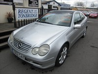 Used Mercedes C CLASS C230K SE 3dr Seq Auto PANORAMIC ROOF FSH LEATHER