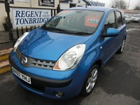 Used Nissan Note SVE 5dr Auto LOW MILEAGE TAX