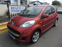 Used Peugeot 107 Verve 3dr AIR CONDITIONING TAX FSH