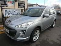 Used Peugeot 4007 HDi SE 5dr 7 SEATER DIESEL
