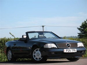 Mercedes SL SL500 + NEW HOOD + HARD TOP