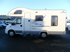 used Fiat Ducato SWIFT SUNDANCE 590RL in perth-scotland