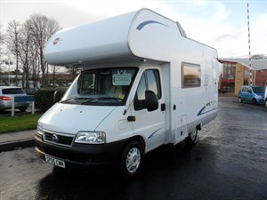 used Fiat Ducato Burstner A530 Prestige in perth-scotland