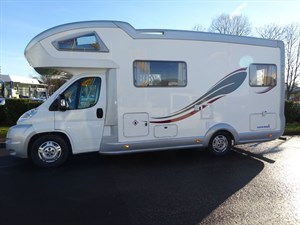 used Fiat Ducato EURAMOBIL TERRESTRA Plus in perth-scotland