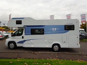 used Fiat Ducato Hobby Siesta A70GM in perth-scotland