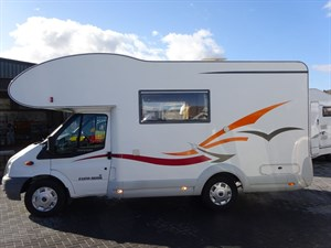 used Ford Transit Eura Mobil in perth-scotland