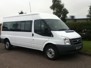 used Ford Transit 350 LWB SHR 15 STR in perth-scotland