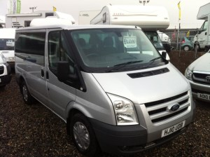 used Ford Transit 280 LIMITED TOURNEO 8 STR in perth-scotland