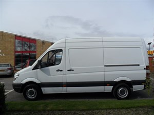 used Mercedes Sprinter 311 CDI MWB in perth-scotland