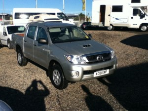 used Toyota Hilux HL2 Double Cab D-4D 4WD 120 in perth-scotland