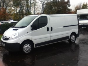 used Vauxhall Vivaro 2900CDTI LWB SHR in perth-scotland