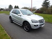 Used Mercedes ML320 ML320 SPORT Auto +COMMAND SAT NAV + ONLY £290 PER MONTH