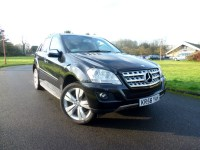 Used Mercedes ML320 CDI Sport TIP + COMMAND SAT NAV + RUNNING BOARDS ONLY £310 PM