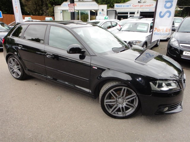 used Audi A3 SPORTBACK TDI S LINE SPECIAL EDITION in guildford-surrey