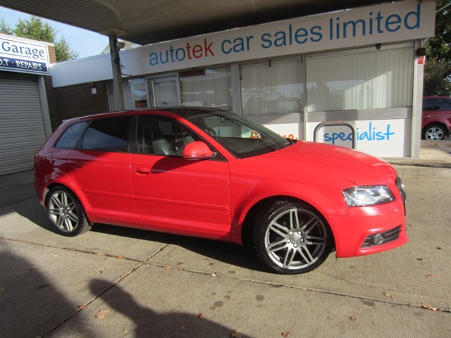 used Audi A3 SPORTBACK TDI S LINE SPECIAL EDITION in surrey