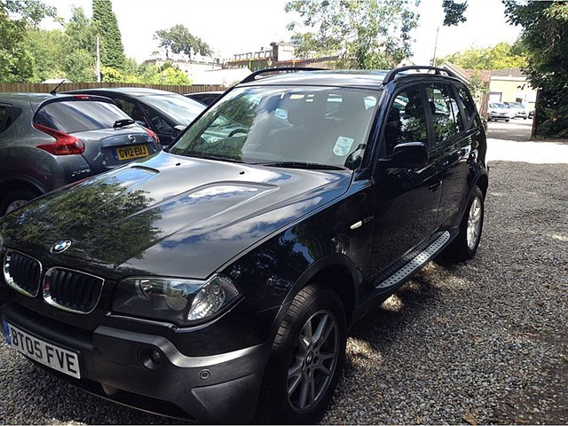 used BMW X3 D SE in guildford-surrey