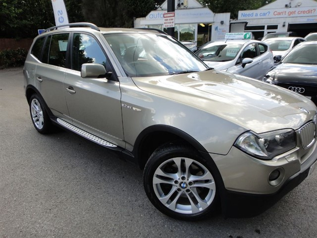 used BMW X3 SD SE in surrey
