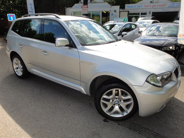 used BMW X3 D M SPORT in guildford-surrey