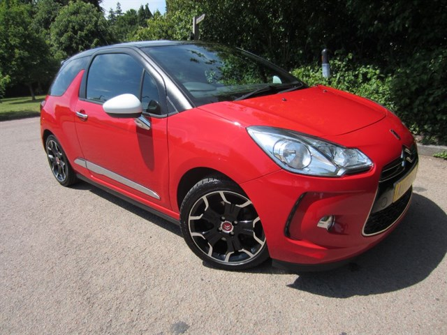 used Citroen DS3 DSPORT HDI in guildford-surrey